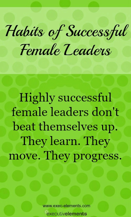 Successful leaders learn and progress